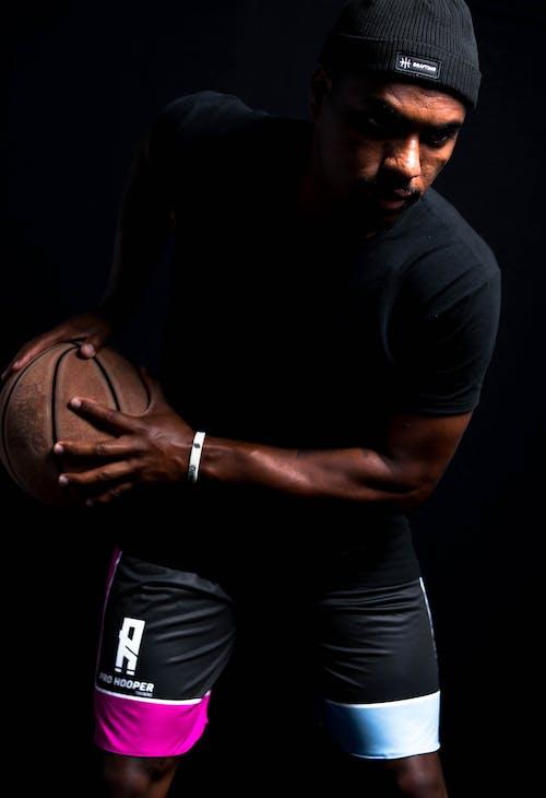 Kostnadsfri bild av basketboll, beslutsamhet, fitness, handskar