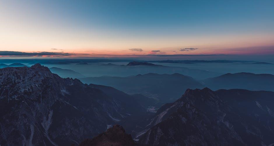 Altitude amazing calm cliff
