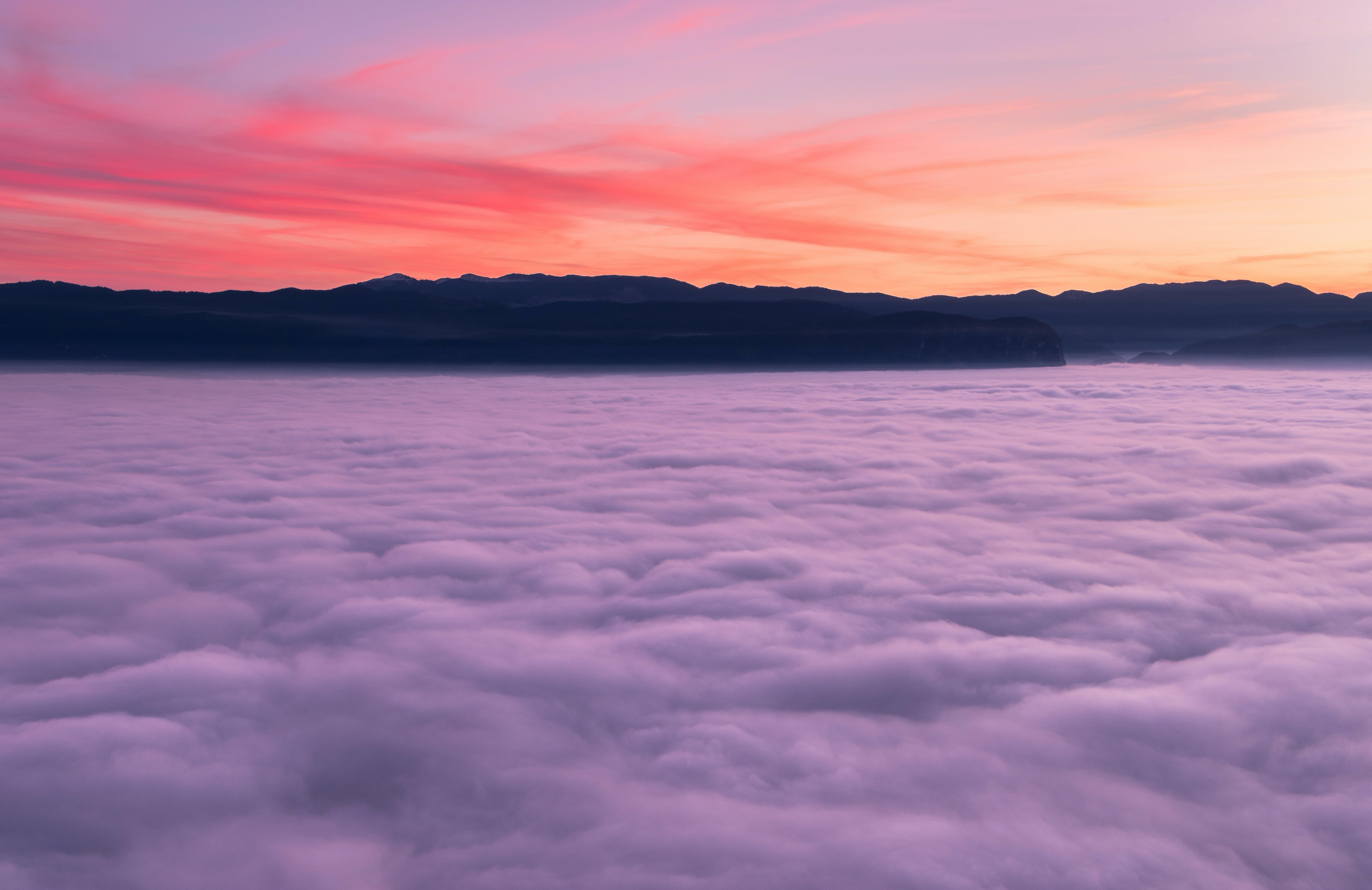 Darmowe zdjęcie z galerii z chmury, dramatyczny, fioletowy, kolorowy
