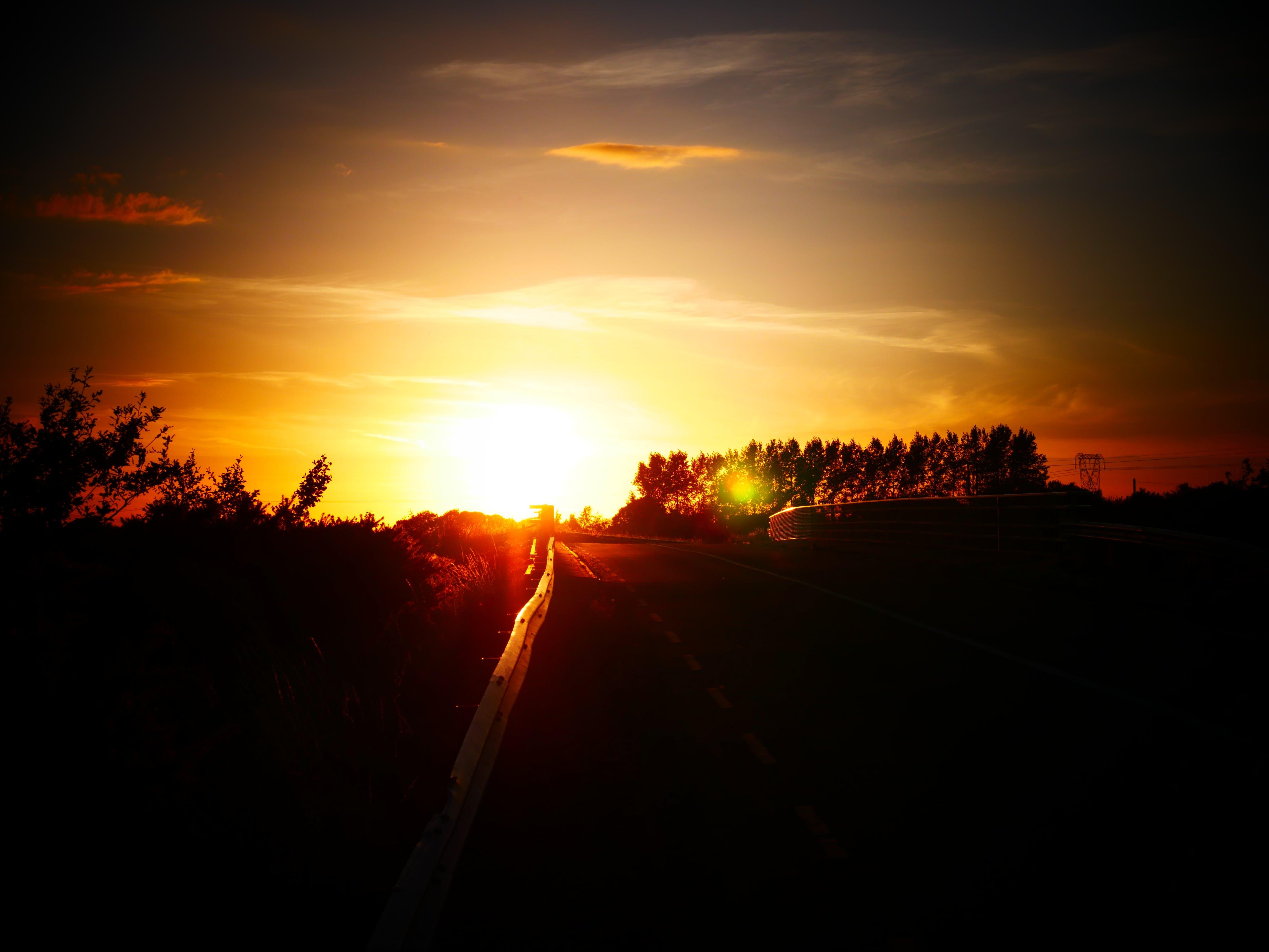 Gratis lagerfoto af 4k, Irland, kvalitet, lav sol
