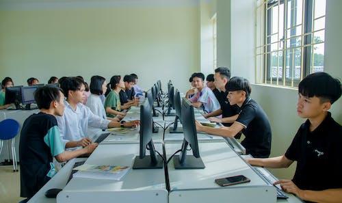 Kostenloses Stock Foto zu asiatische jungs, ausbildung, bildung