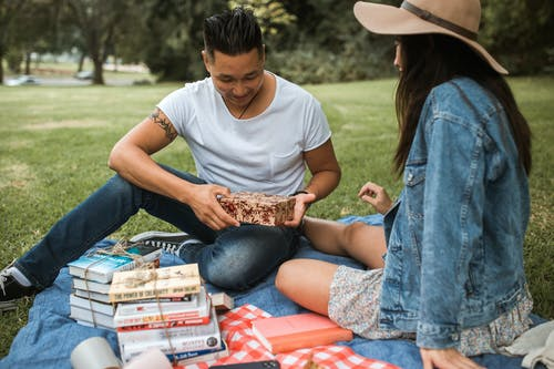 Foto d'estoc gratuïta de amor, booklovers, caixa de regal