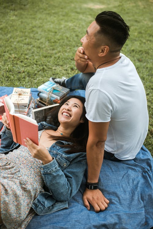 Couple Having a Picnic