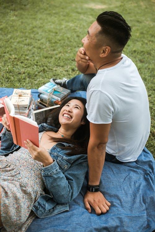 Paar, Das Ein Picknick Hat