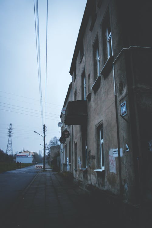 Tenement house & street