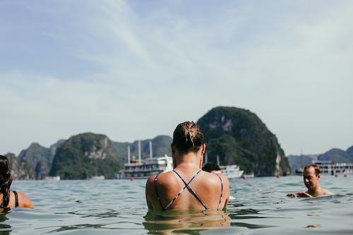 Foto profissional grátis de diversão, lazer, mar