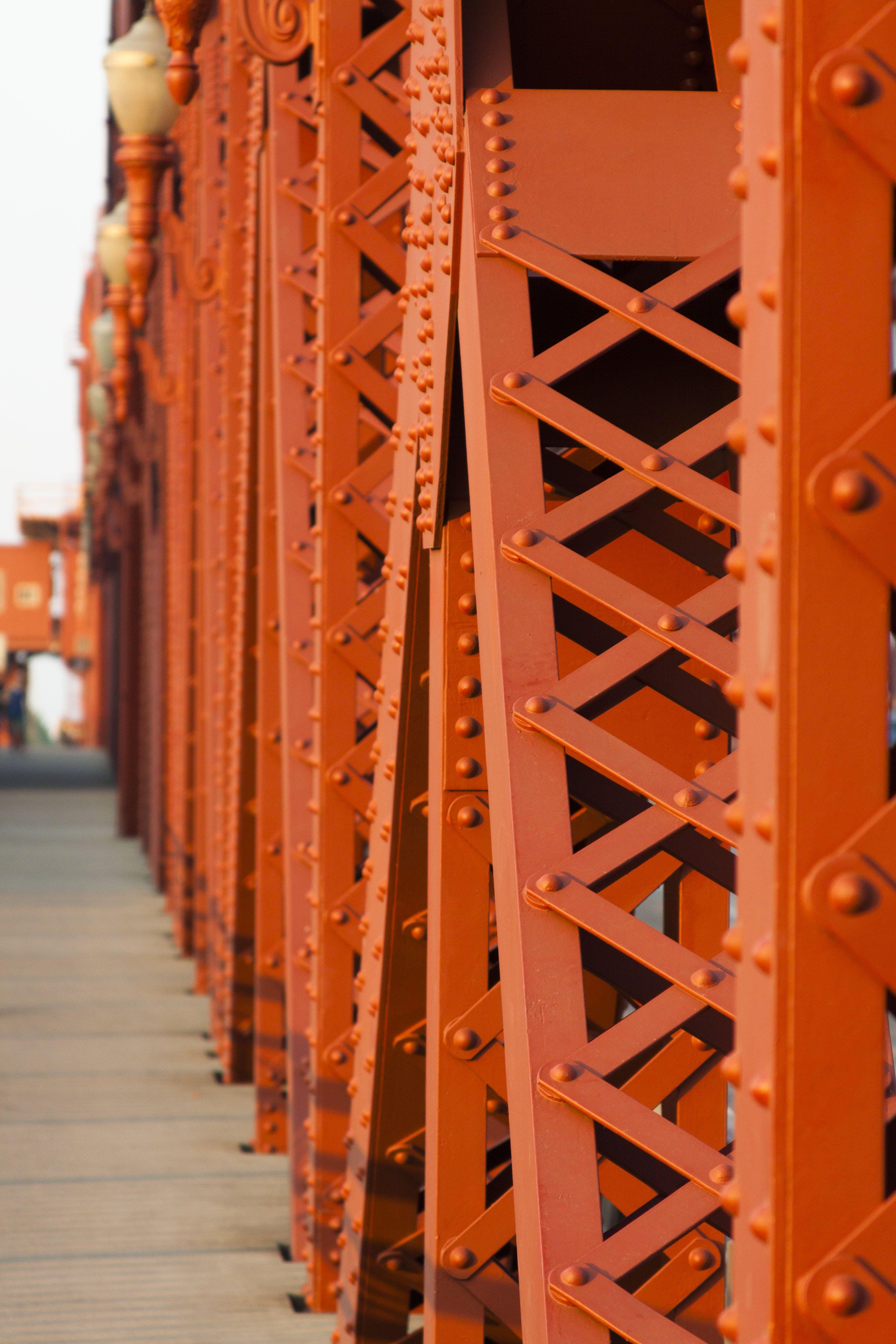of bridge, cross, crossing, downtown