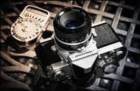 camera, vintage, technology
