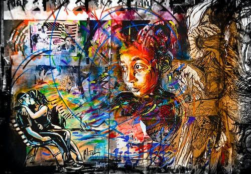 Free stock photo of east london, Stencils, street art