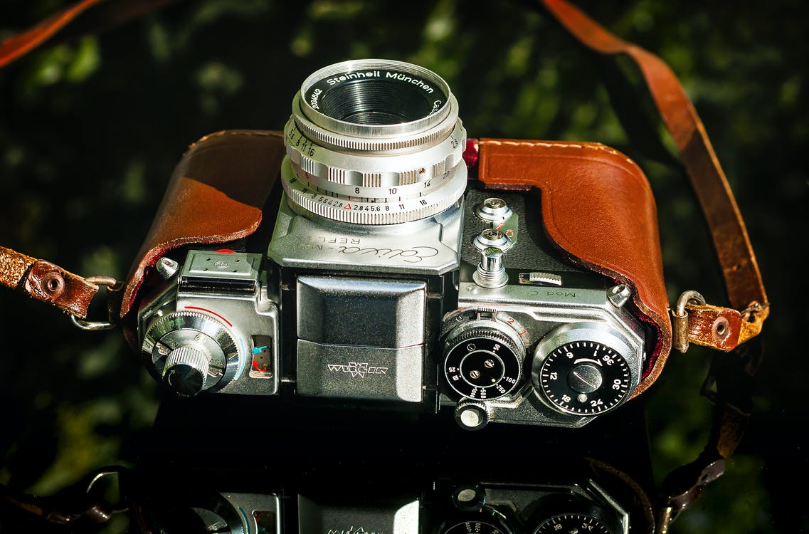 Free stock photo of camera, edixa mat reflex model c, vintage