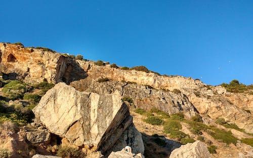 Free stock photo of clear sky, rocks, vegetation