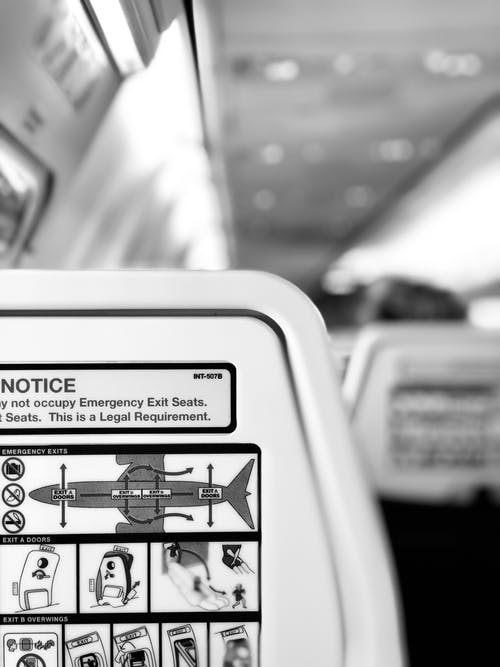 Free stock photo of aeroplane, aeroplanes, b&w, black