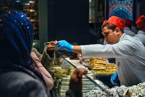 Free stock photo of baklava, buy, change