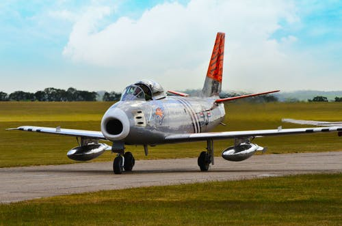 Free stock photo of air show, F86A SABRE, fighter jet, Flying Show
