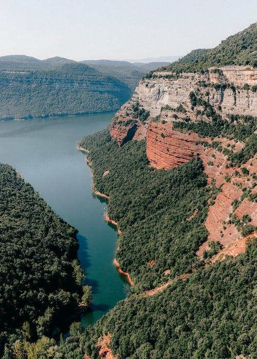 Безкоштовне стокове фото на тему «вода, гора, дерево»