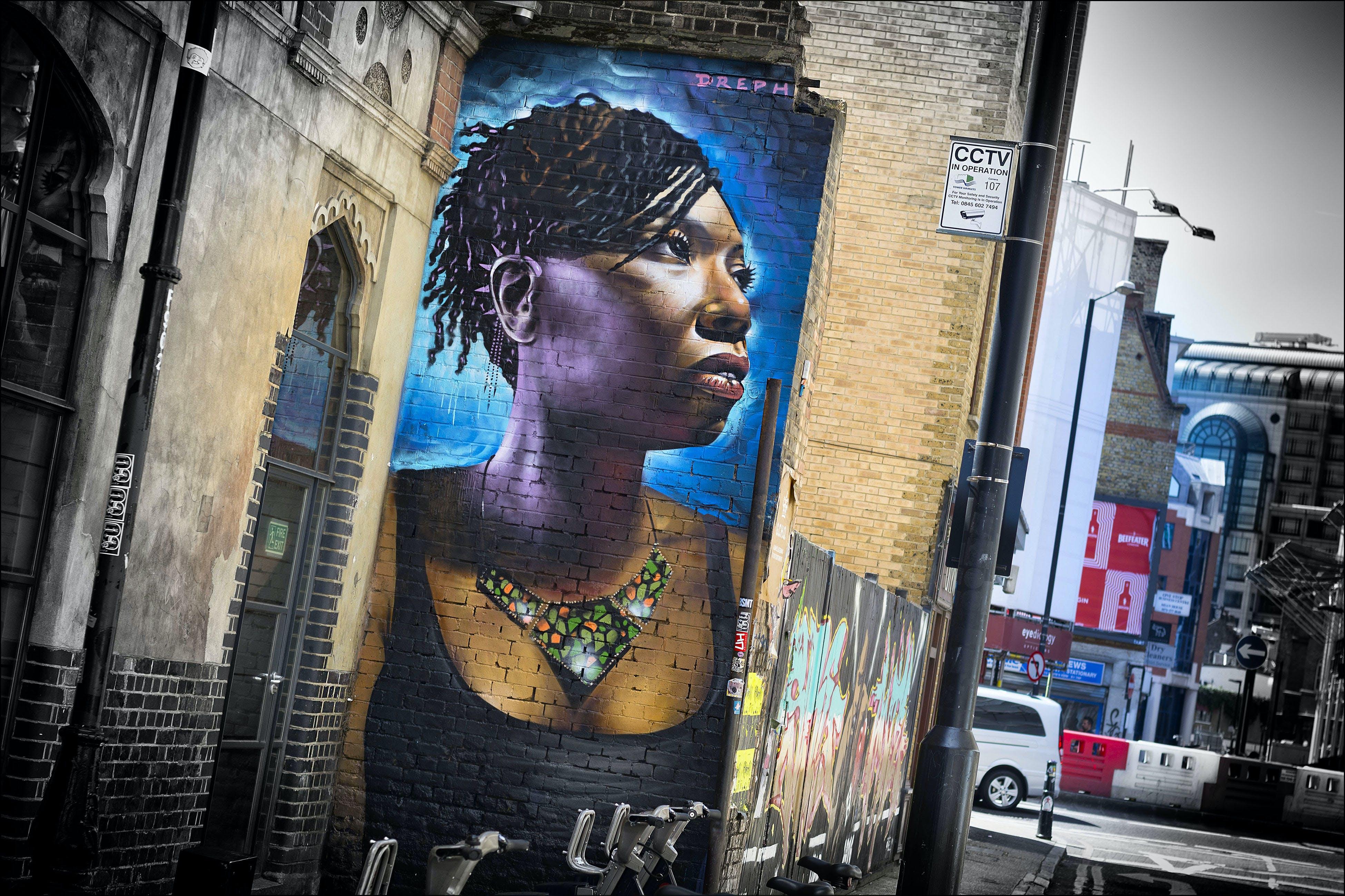 Δωρεάν στοκ φωτογραφιών με fashion street, street art, ανατολικό λονδίνο, αστικός