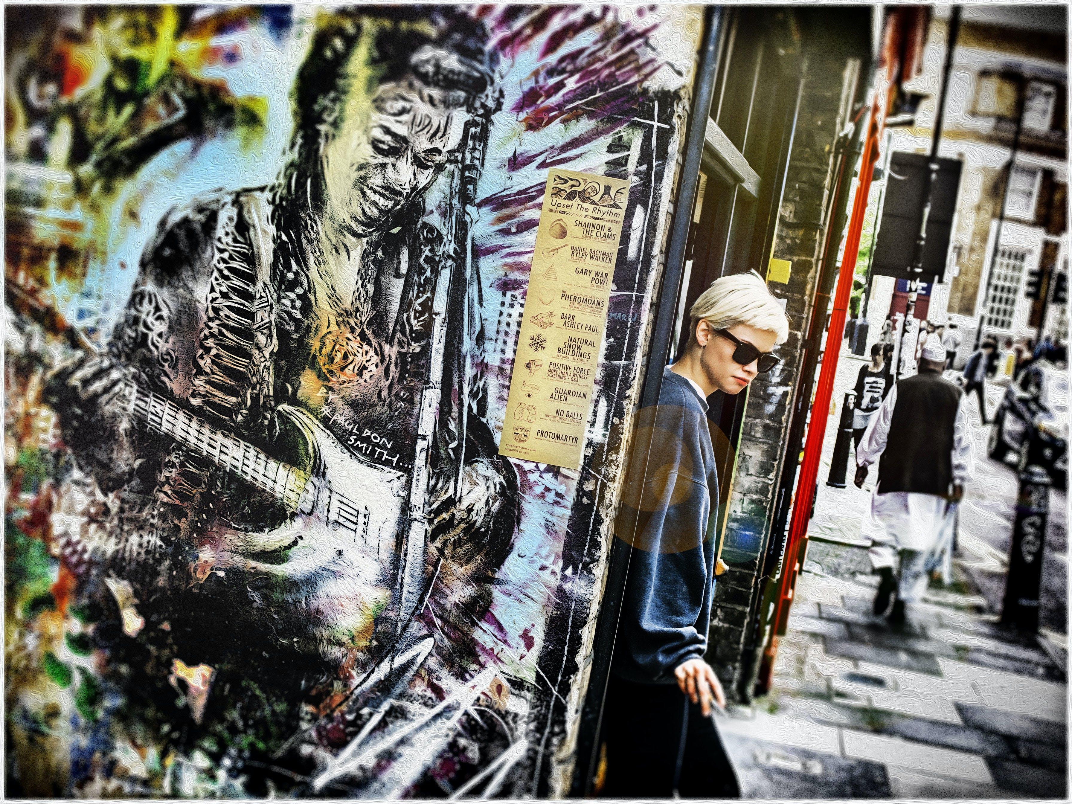 Δωρεάν στοκ φωτογραφιών με street art, ανατολή, δρόμος, επεξεργασία