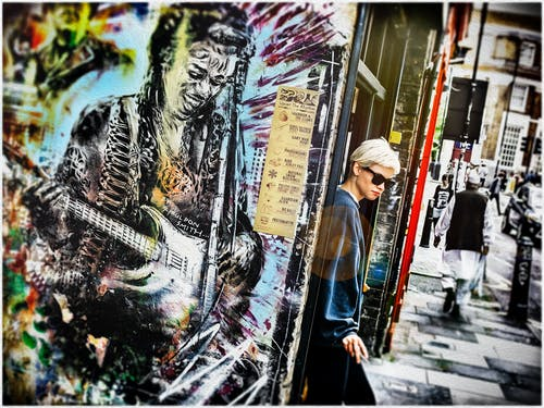 Free stock photo of art, candid, east, london