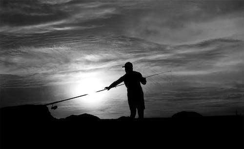 Free stock photo of balıkçı, bulutlar, gökyüzü