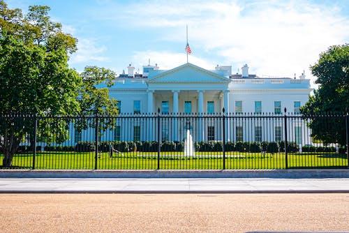 Free stock photo of america, white house