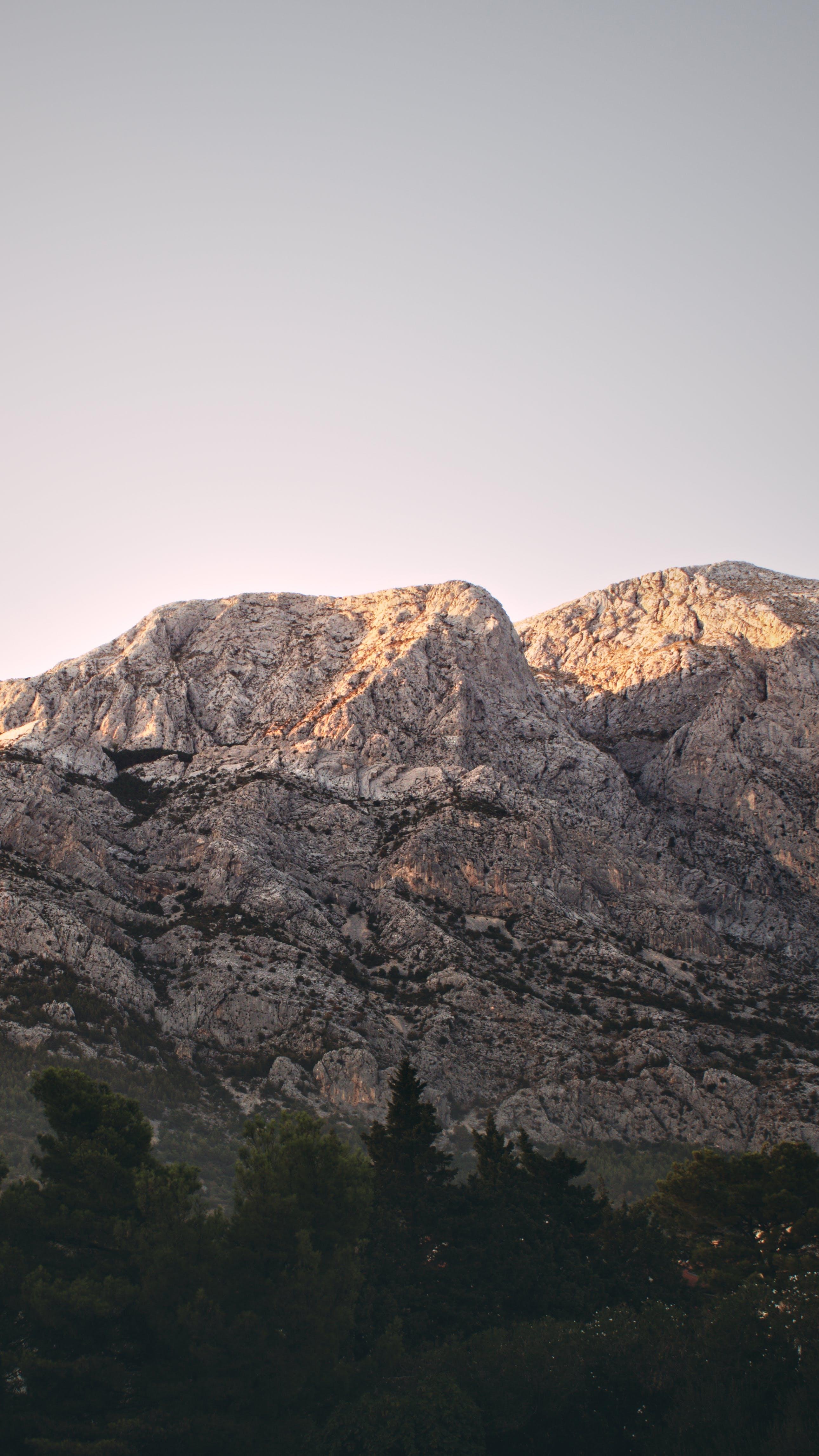 Free stock photo of mountains, sky, sunset, sun