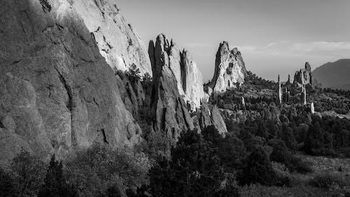 岩石, 日落, 景觀 的 免费素材图片