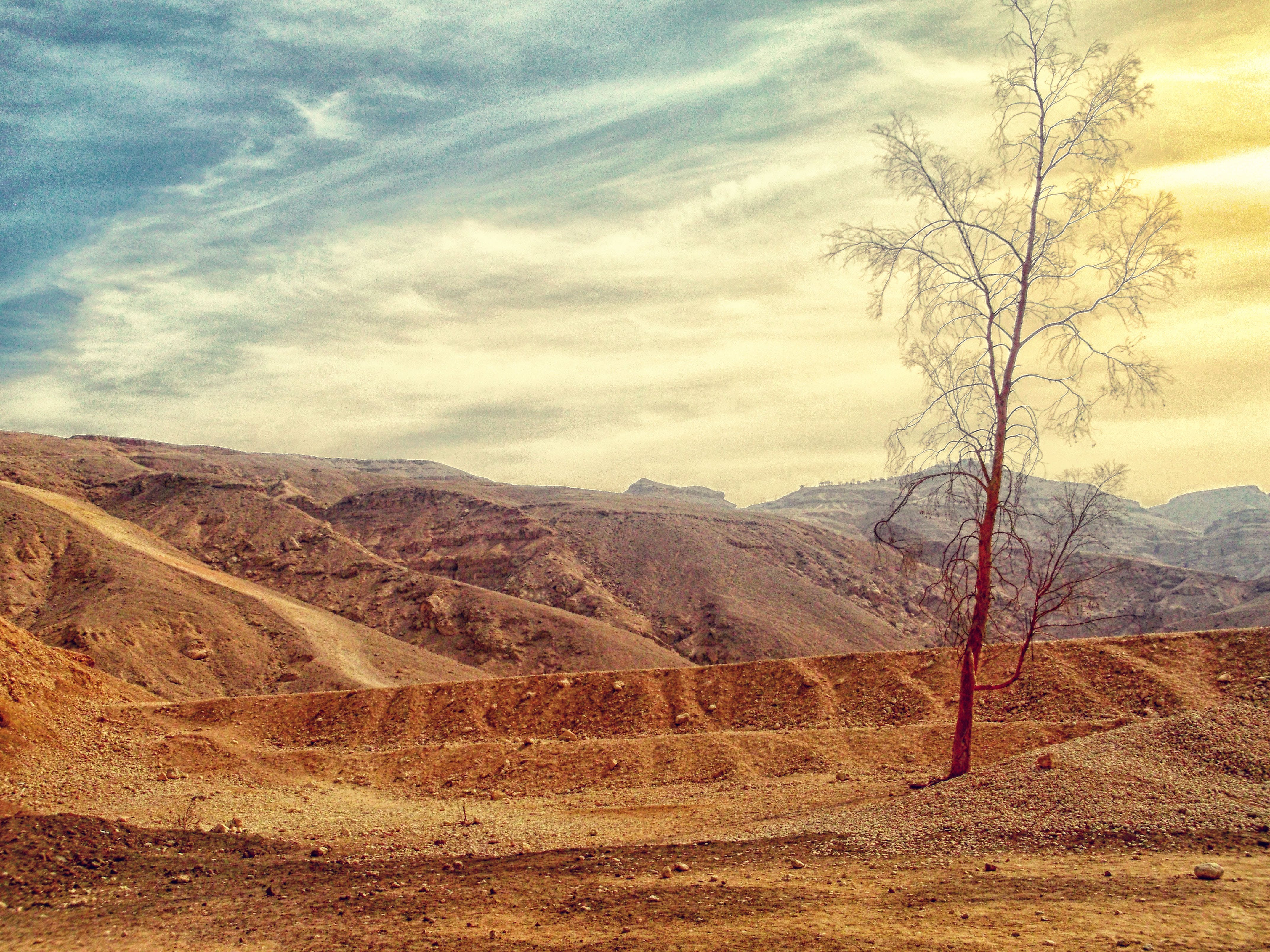 Nature wallpaper of landscape, mountains, nature, sand