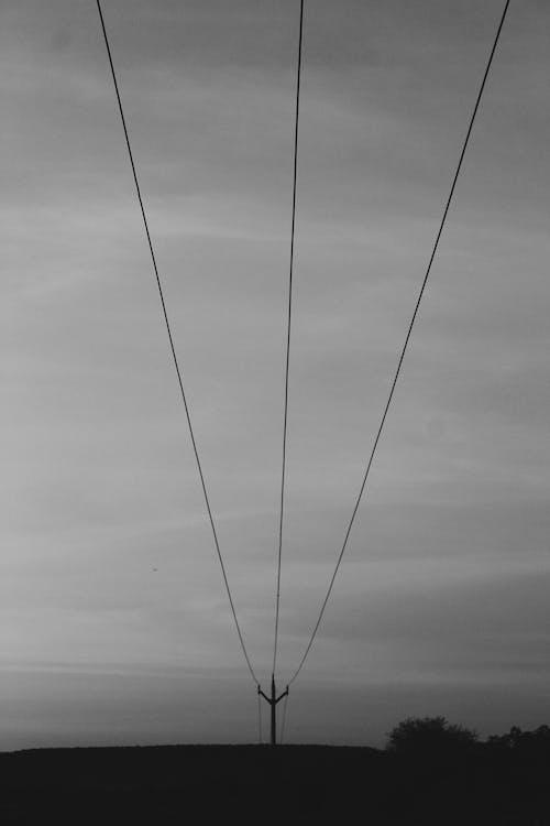 Fotobanka sbezplatnými fotkami na tému čiara, drôt, elektrická energia
