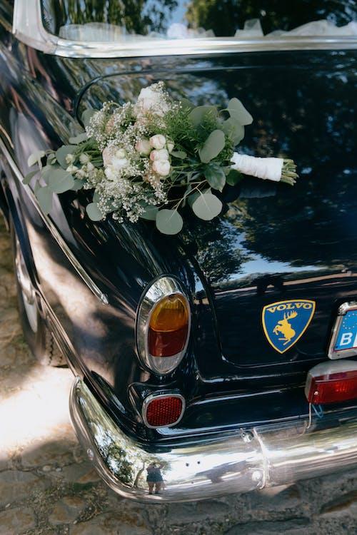 Kostnadsfri bild av bil, blombukett, blomma