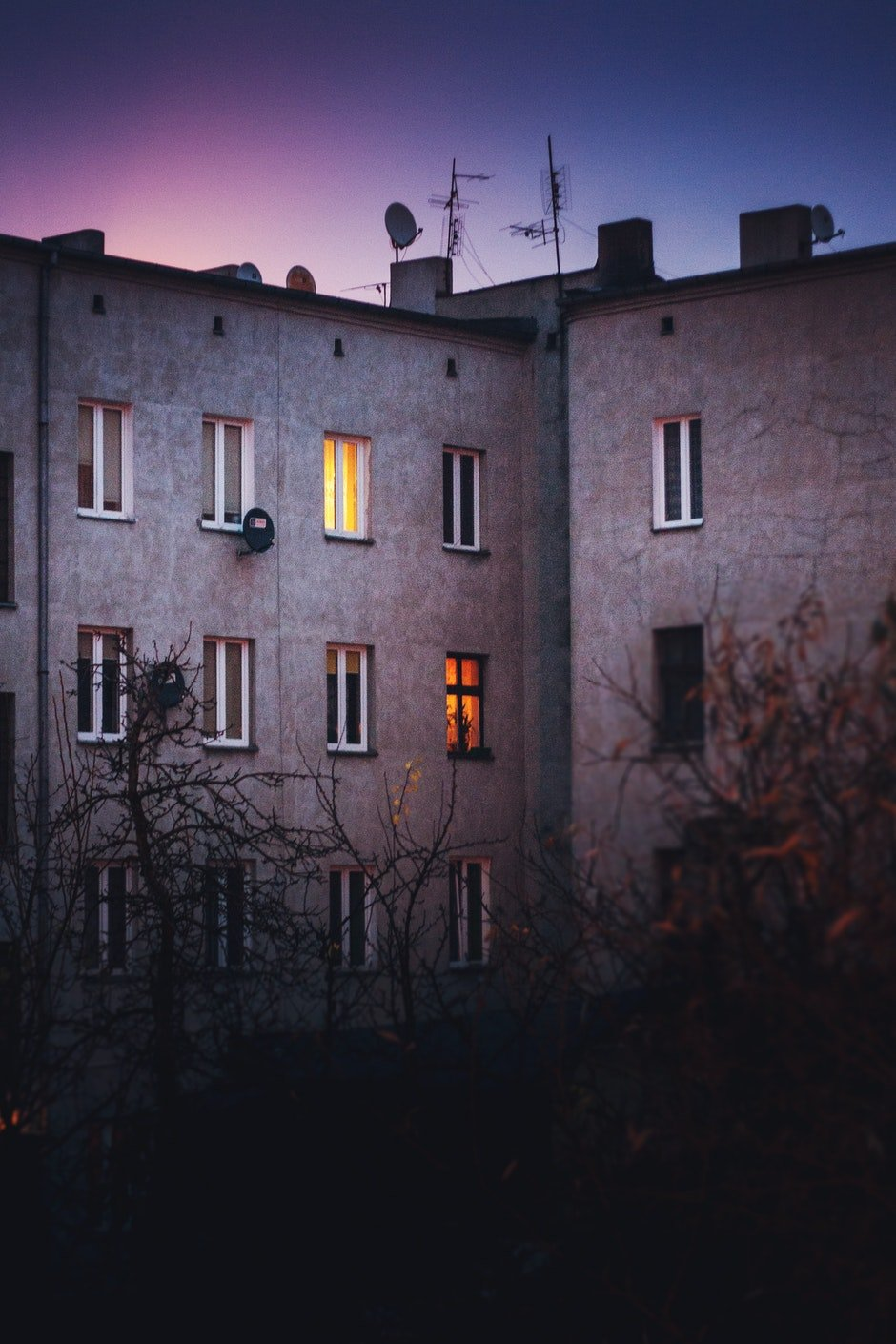 Old tenement house
