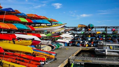 Ingyenes stockfotó colorfull, csónakok, dokk témában