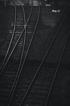 Railroad tracks II