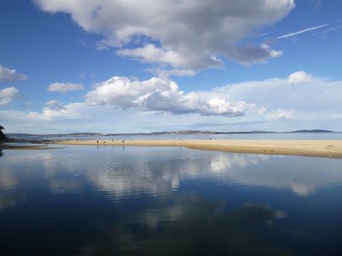 gökyüzü, mavi, okyanus, plaj içeren Ücretsiz stok fotoğraf