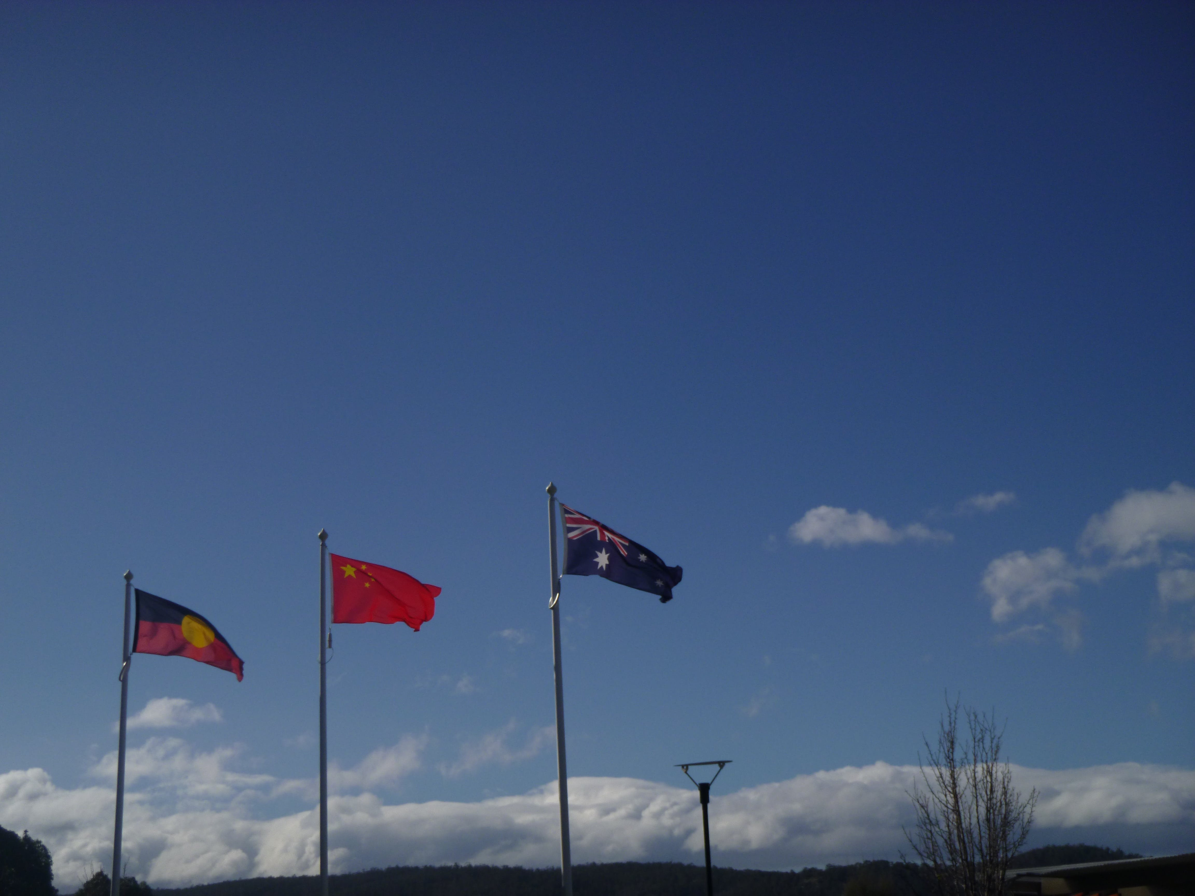 Free stock photo of aboriginal, australia, china, flag