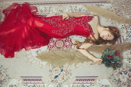 Darmowe zdjęcie z galerii z elegancki, kobieta, koronka