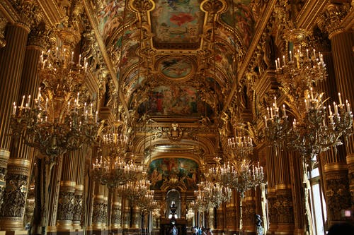 Photos gratuites de opéra, or, paris