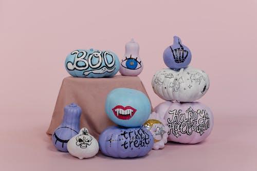 White and Blue Hello Kitty Plush Toy