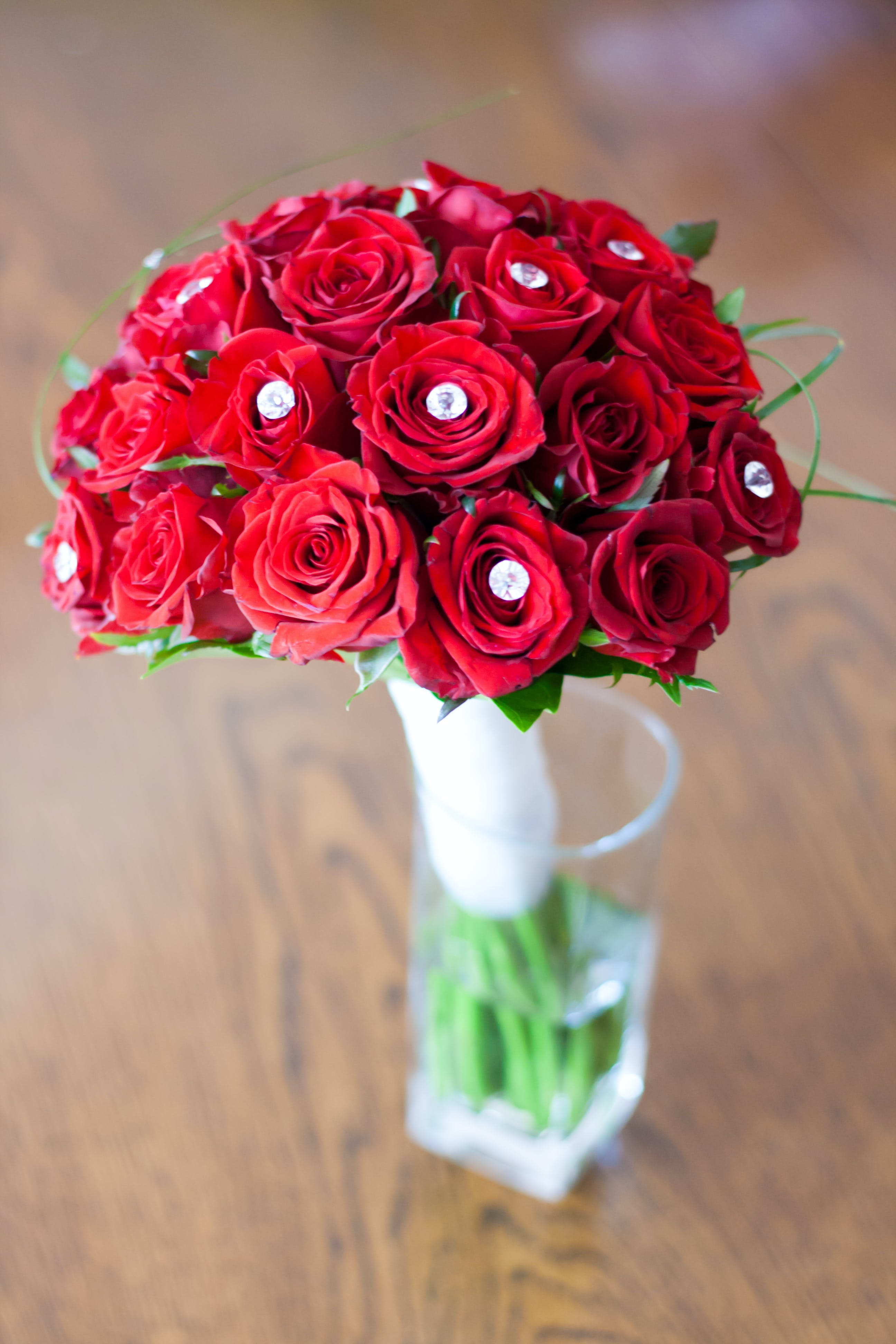 Roses: bridal bouquet