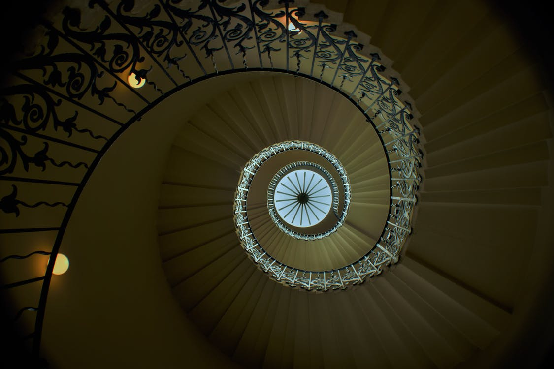 #staircase #stairwell #london #england #spiral