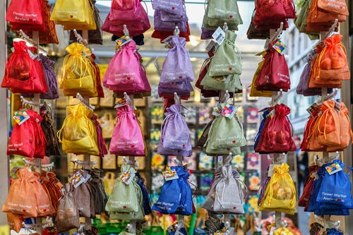 Free stock photo of amsterdam, bags, colorful