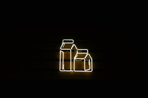 Бесплатное стоковое фото с абстрактный, бутылка молока, горячий