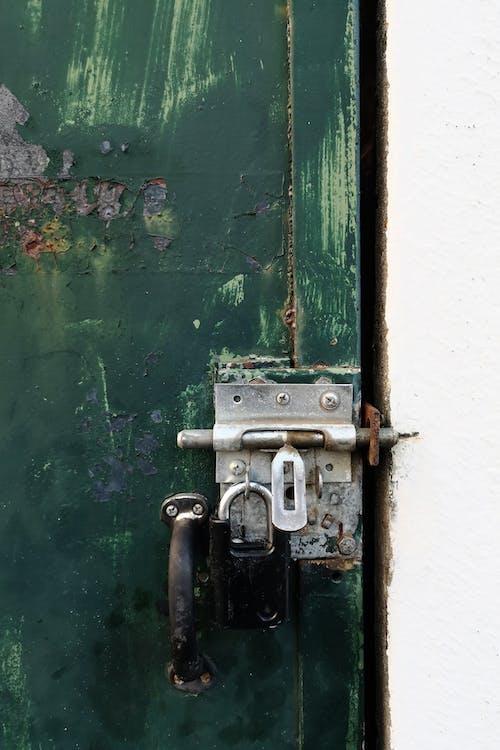 Free stock photo of door, door lock, padlock