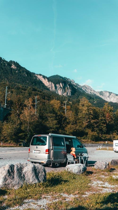 Free stock photo of van, van life, volkswagen