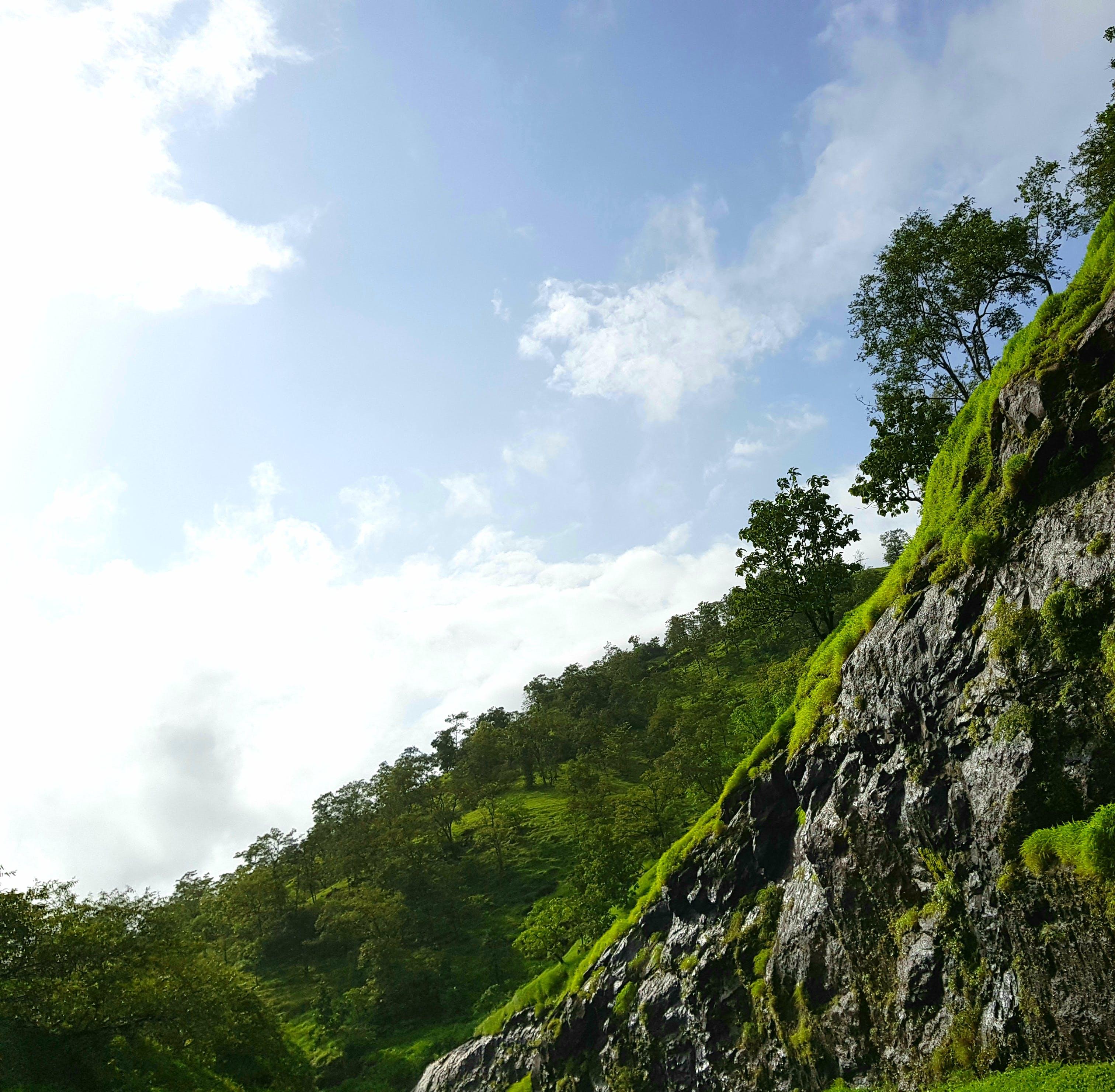 Kostenloses Stock Foto zu blauer himmel, naturfotografie