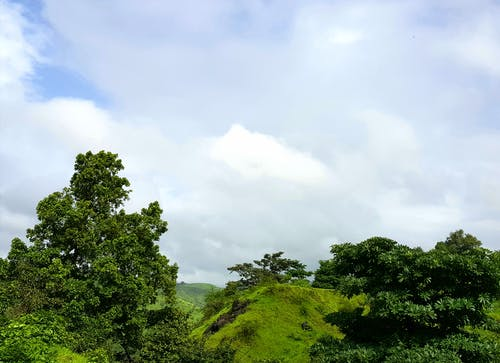 Free stock photo of blue sky, cloudy sky, nashik, nature