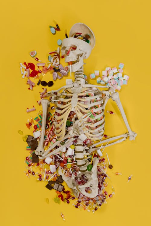 Skeleton Full of Candy