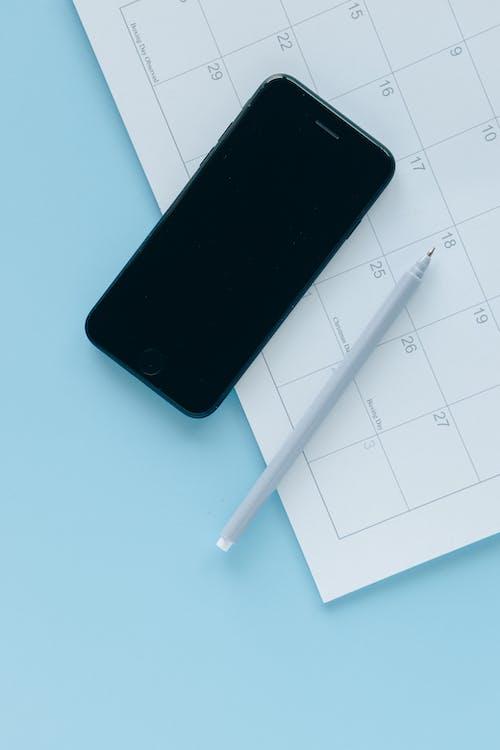 エレクトロニクス, カップ, カレンダーの無料の写真素材