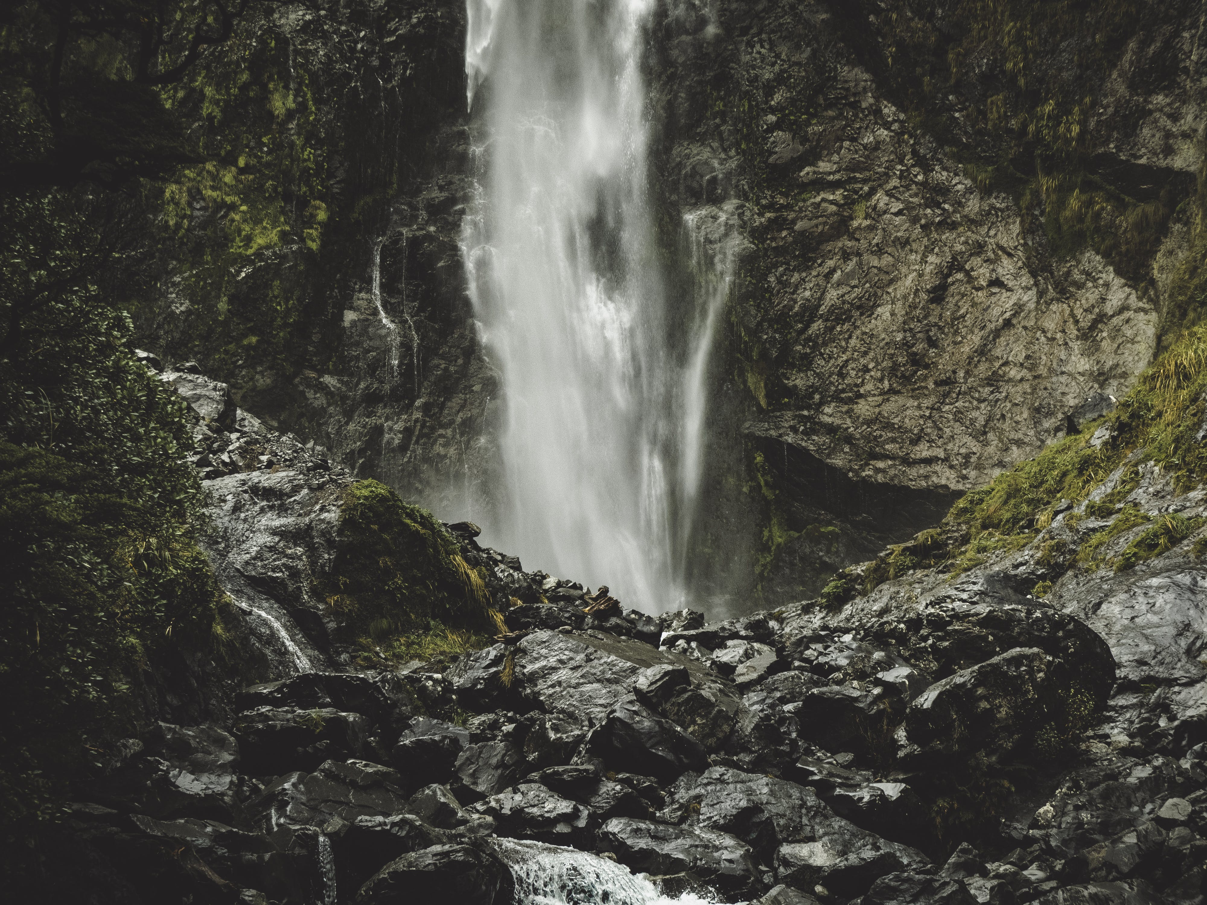 Waterfall in Daytime