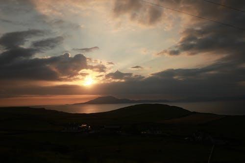 Free stock photo of atlantic, sunset