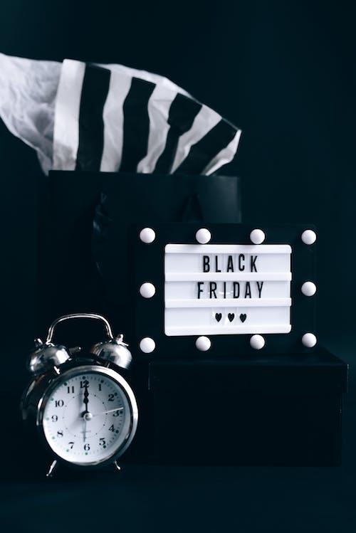 คลังภาพถ่ายฟรี ของ black friday, กระเป๋าช้อปปิ้ง, การขาย, การค้า